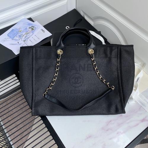大人気シャネルCHANEL ドーヴィル トートバッグShopping bag66941青