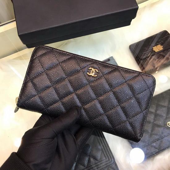 シャネルコピー財布原版の皮革CHQB018