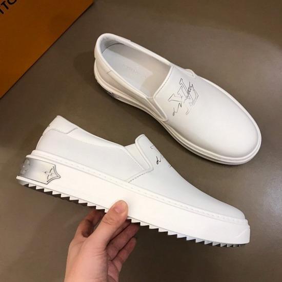 LV1:1原版皮の靴LVX034