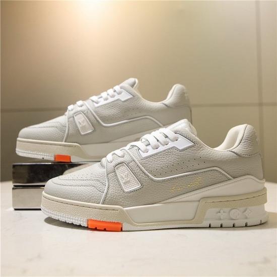 LV1:1原版皮の靴LVX045