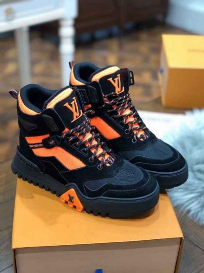 LV1:1原版皮の靴LVX046