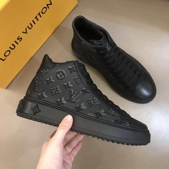 LV1:1原版皮の靴LVX021