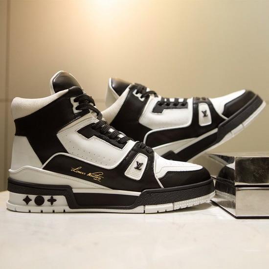 LV1:1原版皮の靴LVX042