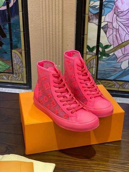 LV1:1原版皮の靴LVX018