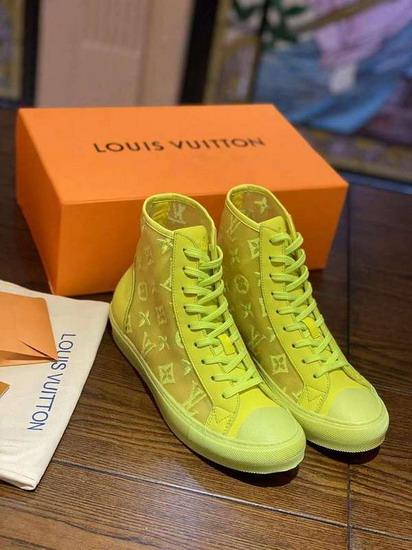 LV1:1原版皮の靴LVX019