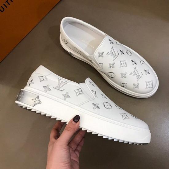 LV1:1原版皮の靴LVX030