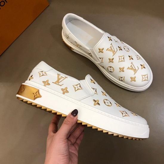 LV1:1原版皮の靴LVX032