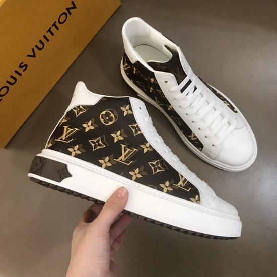 LV1:1原版皮の靴LVX022