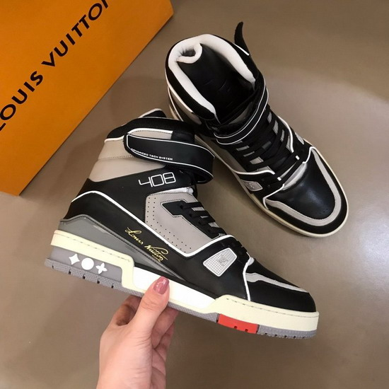 LV1:1原版皮の靴LVX041
