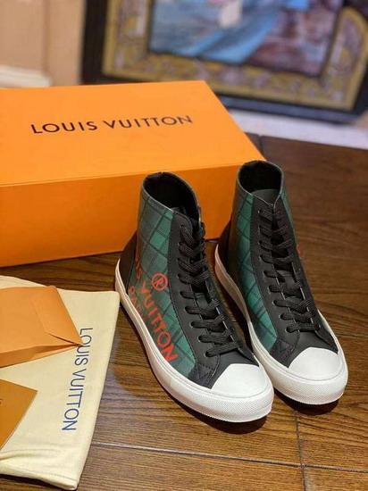 LV1:1原版皮の靴LVX014