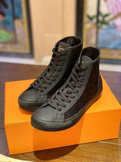 LV1:1原版皮の靴LVX017