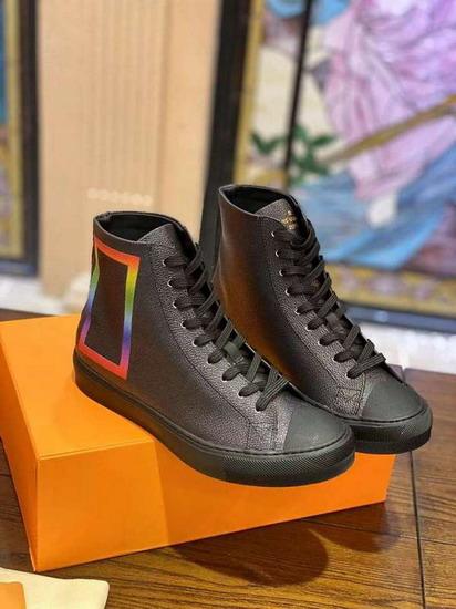 LV1:1原版皮の靴LVX013