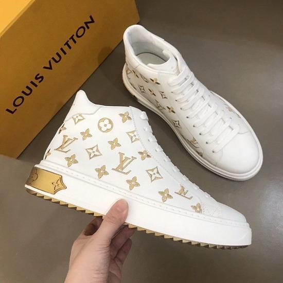 LV1:1原版皮の靴LVX023