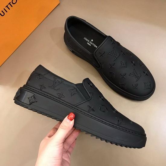LV1:1原版皮の靴LVX031