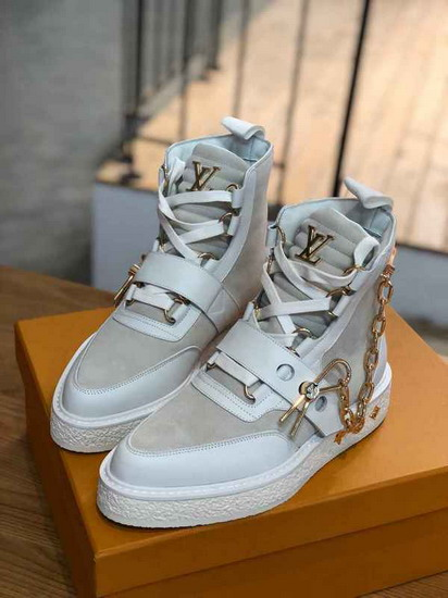 LV1:1原版皮の靴LVX049