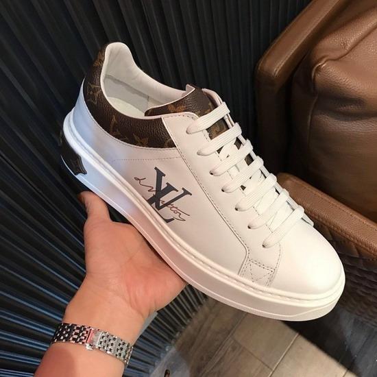 LV1:1原版皮の靴LVX050