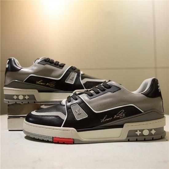 LV1:1原版皮の靴LVX043