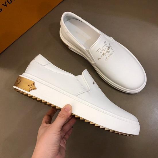 LV1:1原版皮の靴LVX033