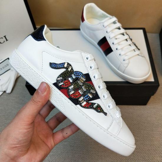 Gucci1:1原版皮の靴GUX120