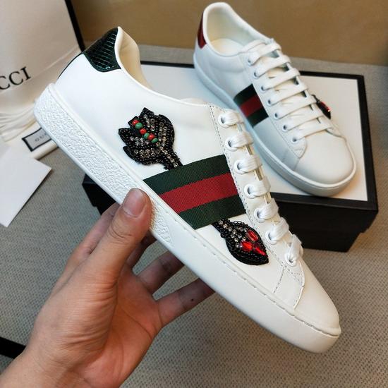 Gucci1:1原版皮の靴GUX119