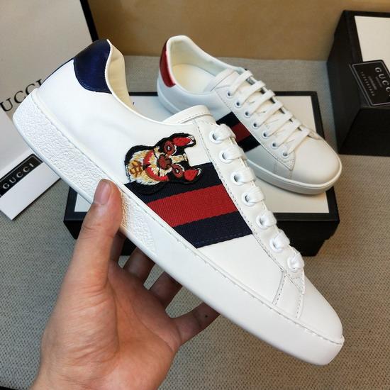 Gucci1:1原版皮の靴GUX098