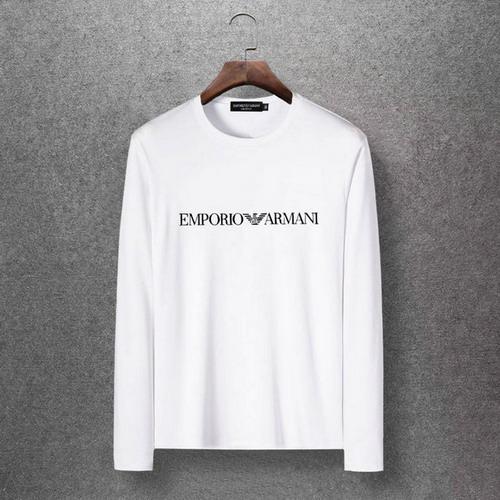 人気アルマーニ長袖TシャツAMNCT005
