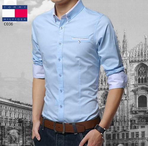人気トミーワイシャツTOMCY037
