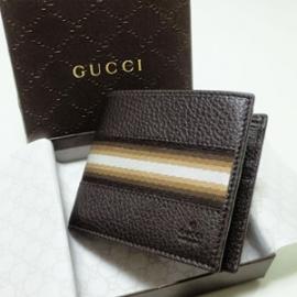 グッチコピー 二つ折り財布 型押しカーフ×キャンバス 231845 CAO10 2083