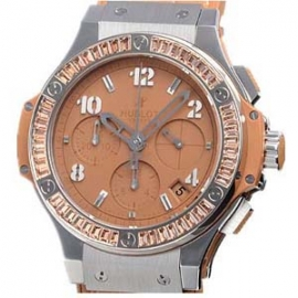 コピー腕時計 ウブロ ビッグバン スチール トゥッティフルッティ キャメルカラット 341.SA.5390.LR.1918