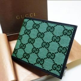 グッチコピー 二つ折り財布 GGキャンバス×カーフ 260987 FAFX0 8386