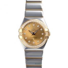 コピー腕時計 オメガ コンステレーション ポリッシュクォーツ123.25.27.60.58.002