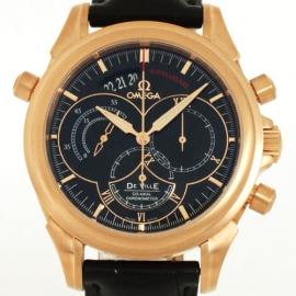 コピー腕時計 オメガ デビル コーアクアシャル 4648.50.31 RG金無垢 メンズ