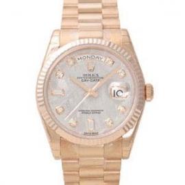 (ROLEX)ロレックス スーパーコピー 時計 デイデイト メテオライト10P 118235A