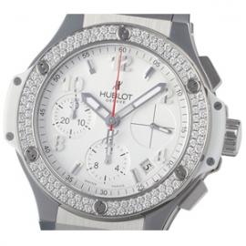 コピー腕時計 ウブロ ビッグバン スチール ホワイトダイヤモンド342.SE.230.RW.114