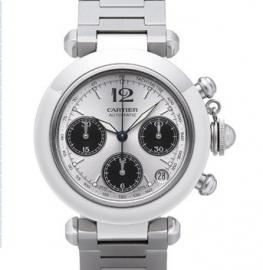 コピー腕時計 カルティエ パシャCクロノグラフ / W31048M7
