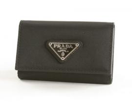 財布 コピー プラダ テスート キーケース ブラック M222