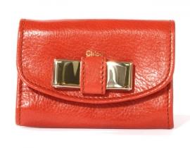 財布 コピー クロエ リリィ カードケース テラコッタ 3P0510-015-177