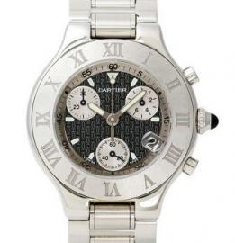 コピー腕時計 カルティエ 21 クロノスカフ 21 CHRONOSCAPH W10172T2