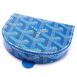 財布 コピー ゴヤールコインケース メンズ 革 馬蹄型 小銭入れ ブルー APM114 10
