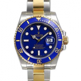 (ROLEX)ブランド時計 コピーロレックス偽物オイスターパーペチュアル サブマリーナデイト 116613LB