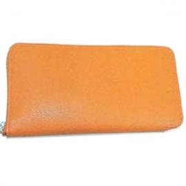 財布 コピー エルメス アザップ シルクイン オレンジ エプソン   Her-37