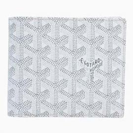 ゴヤールコピー 二つ折り財布 ヘリンボーン ブランシュ.ホワイト(白) APM110 50
