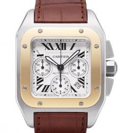 コピー腕時計 カルティエ サントス100クロノグラフSANTOS100 CHRONOGRAPH W20091X7