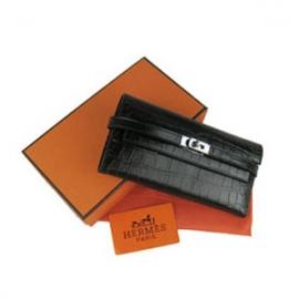 財布 コピー エルメス ケリーウォレット クロコダイル HR12020