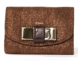 財布 コピー クロエ リリィ カードケース ブロンズ 3P0510-224-094