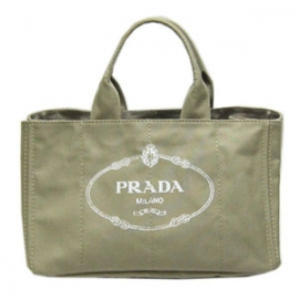 (PRADA)プラダコピー激安 トートバッグ キャンバス ナチュラルB1872B-1