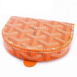 偽物財布ブランド  ゴヤールコインケース メンズ 革 馬蹄型 小銭入れ オレンジ APM114 07