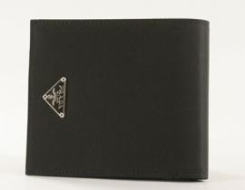 財布 コピー プラダ テスート 二つ折財布 ブラック M738