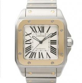 コピー腕時計 カルティエ サントス100 SANTOS 100 W200728G