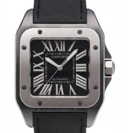 コピー腕時計 カルティエ サントス100 カーボン Santos 100 Carbon W2020010